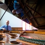 Paul Fox tuning grand piano